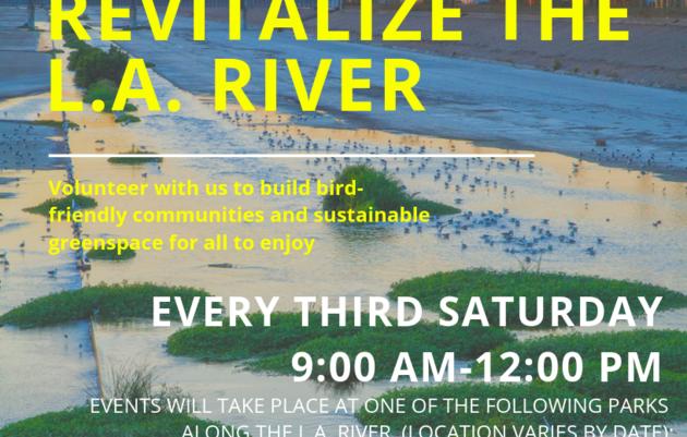 L.A. River Habitat Enhancement - Let's Revitalize the LA River!