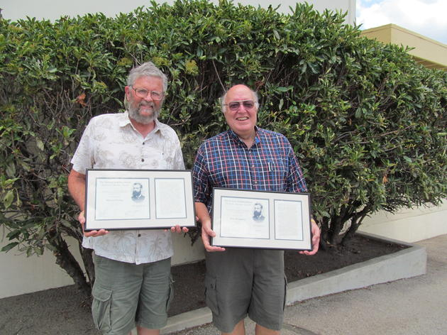 Audubon volunteers recognized