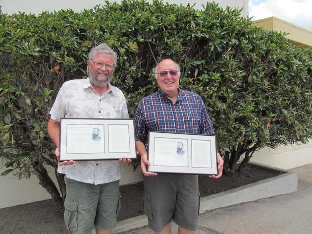 Audubon volunteers recognized