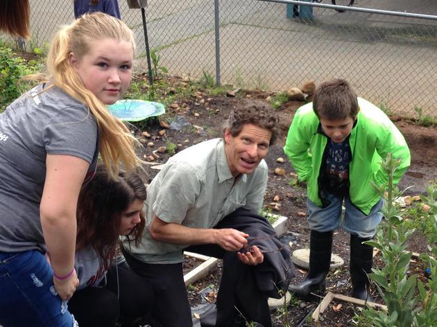 Paradise students create native habitat on campus