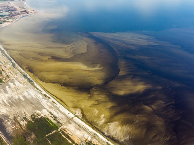 The Salton Sea is Collapsing