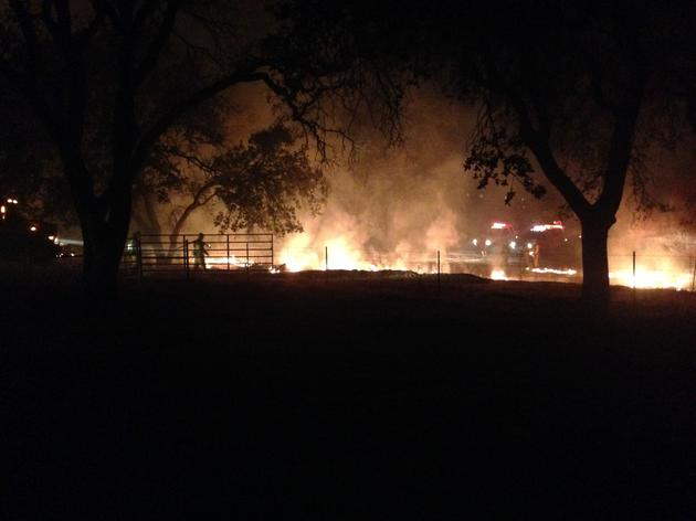 Fire again hits the Audubon Bobcat Ranch