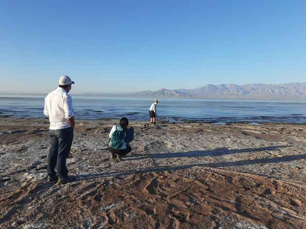 View from the Salton Sea -- Fall, 2020