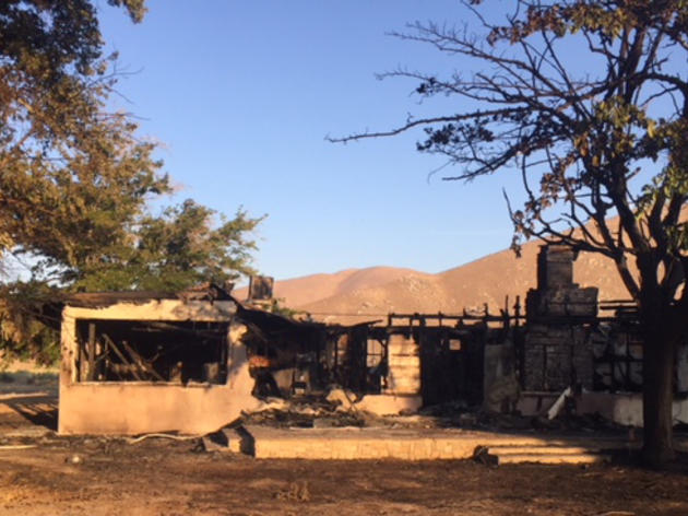 Sprague Ranch House lost to fire