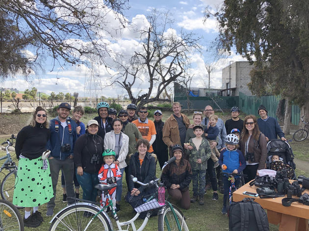 Bikes and birding along the L.A. River
