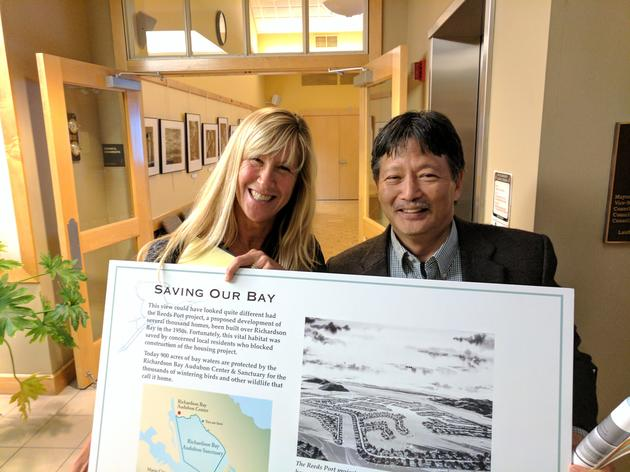 Bayside signage approved in Tiburon