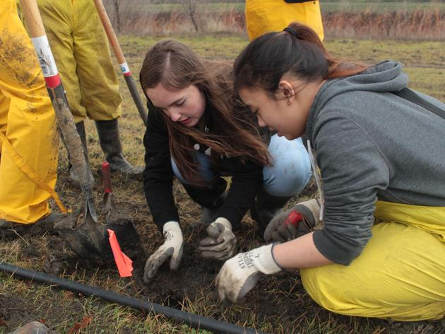 High School students learn how conservation and agriculture work together