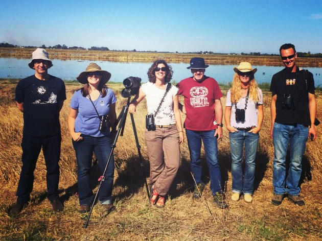 Spreading the word about bird-friendly farming