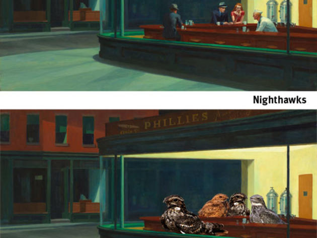 With apologies to Hopper