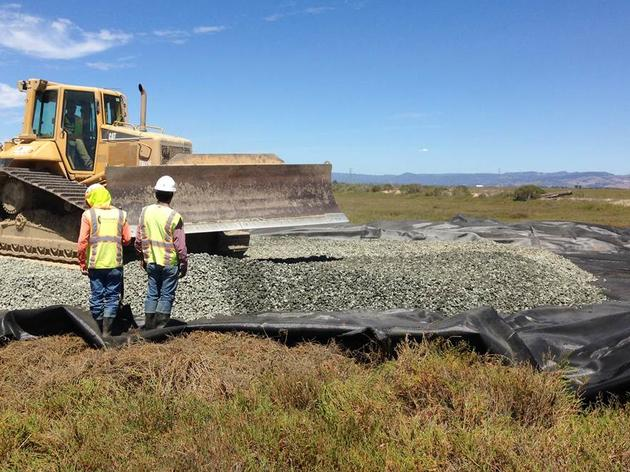 Construction begins at Sonoma Creek