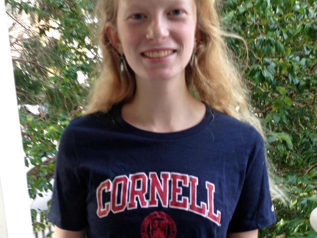 Longtime bird surveyer, Zoe McCormick, is heading to Cornell