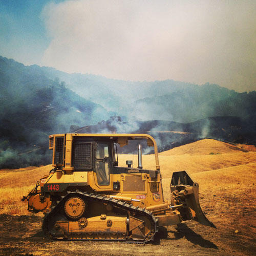 Fire at the Audubon Bobcat Ranch | Audubon California