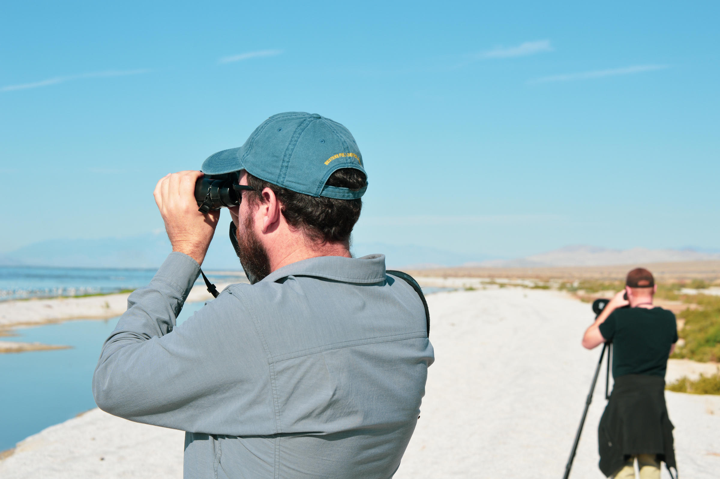 Dan Cooper at the Salton Sea