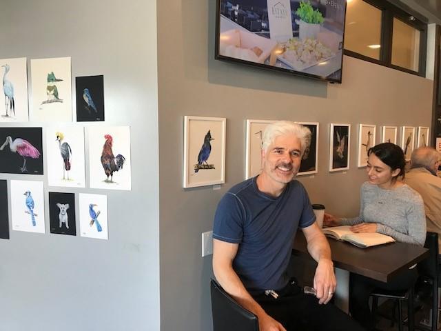Expressing a passion for birds through art